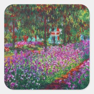 Monet Garden at Giverny Fine Art Sticker