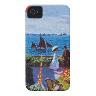 Monet - Garden at Sainte-Adresse iPhone 4 Case-Mate Case
