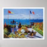 Monet: Garden at Sainte-Adresse Print