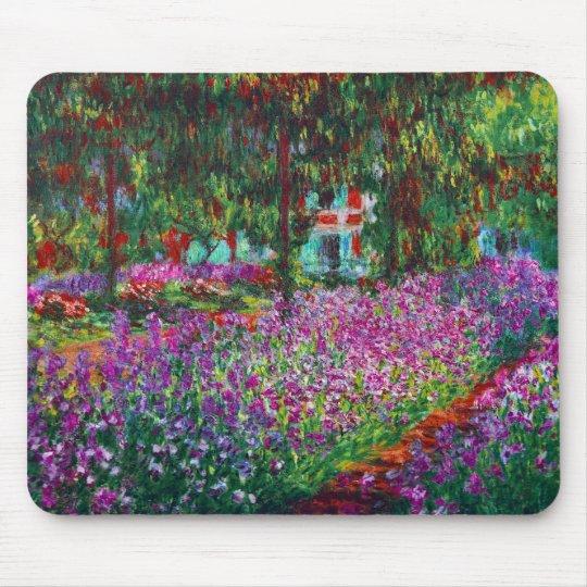 Monet Garden in Giverny Fine Art Mousepad
