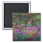 Monet Garden in Giverny Magnet Magnet