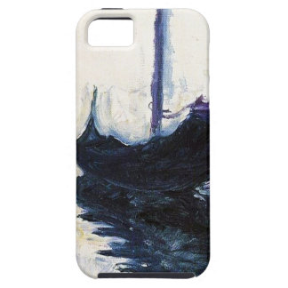 Monet Gondola In Venice iPhone SE/5/5s Case