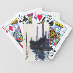 Monet Gondola In Venice Playing Cards
