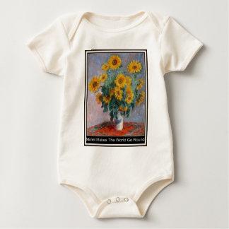 Monet hace que el mundo va alrededor de bebé crece mamelucos