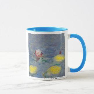 monet happy face t-shirt mug