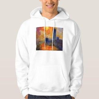 Monet House of Parliament and Sunset Hoodie