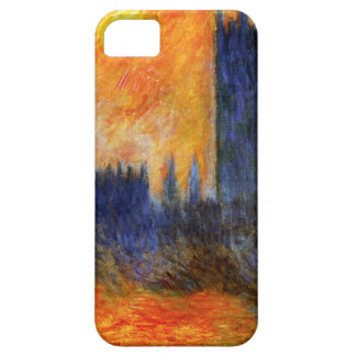 Monet House of Parliament and Sunset iPhone 5 Case