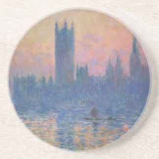 Monet - Houses of Parliament at Sunset Drink Coaster