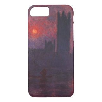 Monet Houses of Parliament at Sunset iPhone 7 case