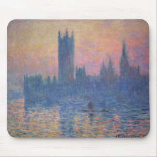 Monet - Houses of Parliament at Sunset Mouse Pad
