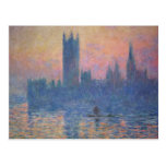 Monet - Houses of Parliament at Sunset Postcard
