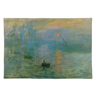 Monet Impression Sunrise Place Mat
