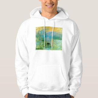 Monet Impressionism Sunrise Hoodie
