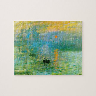 Monet Impressionism Sunrise Puzzle