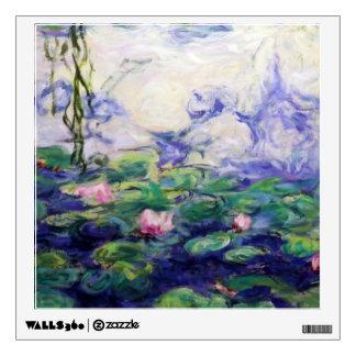 Monet inspiró lirios de agua vinilo