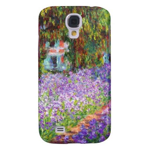 Monet - iris en el jardín de Monet