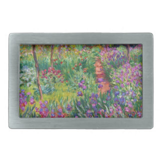 Monet Iris Garden at Giverny Belt Buckle