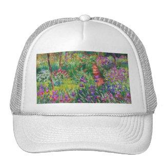 Monet Iris Garden at Giverny Hat