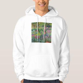 Monet Iris Garden at Giverny Hoodie