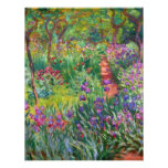 Monet Iris Garden at Giverny Invitations