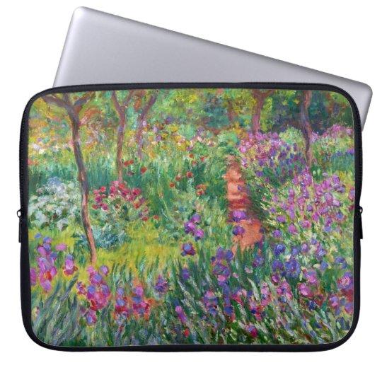 Monet Iris Garden at Giverny Laptop Sleeve