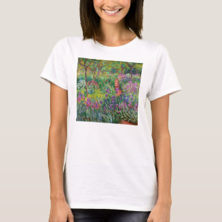 Monet Iris Garden at Giverny T-shirt