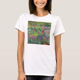 Monet Iris Garden at Giverny T-shirt