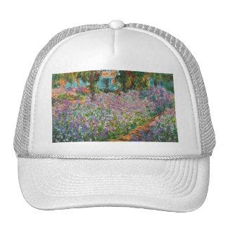 Monet irisa el gorra