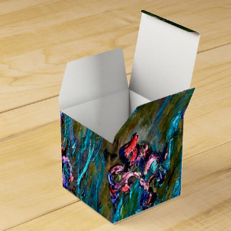 Monet - Irises and Water Lilies Favor Box