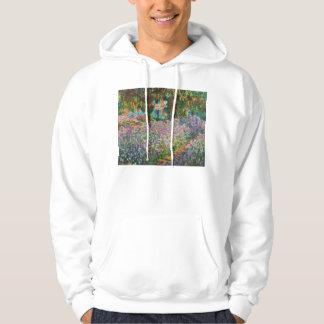 Monet Irises Hoodie