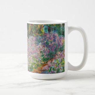 Monet Irises Mug
