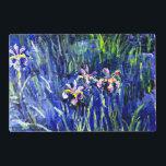 """Monet - Irises Placemat<br><div class=""""desc"""">Claude Monet painting,  Irises</div>"""