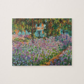 Monet Irises Puzzle