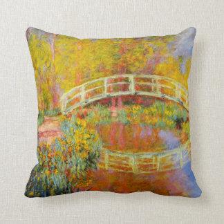 Monet Japanese Bridge Pillow