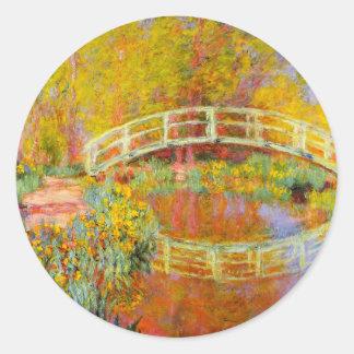 Monet Japanese Bridge Stickers