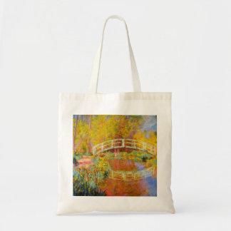 Monet Japanese Bridge Tote Bag