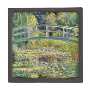 Monet Japanese Bridge with Water Lilies Gift Box