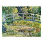 Monet Japanese Bridge with Water Lilies Invitation