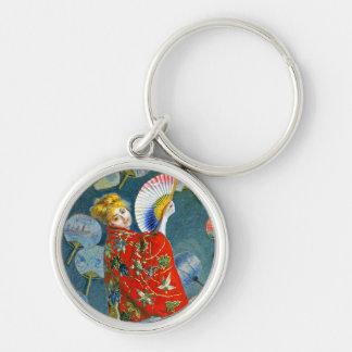 Monet - Japanese Costume - La Japonaise Key Chains