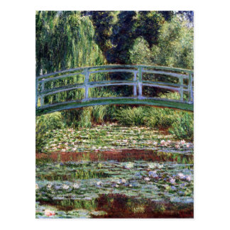 Monet Japanese Footbridge and the Water Lily Pool Postcard