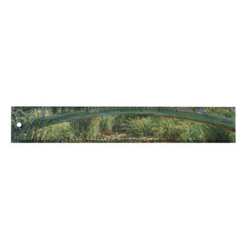 Monet Japanese Footbridge and the Water Lily Pool Ruler