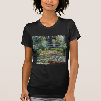 Monet Japanese Footbridge and the Water Lily Pool T-Shirt