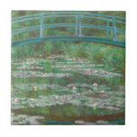 Monet- Japanese Footbridge Ceramic Tile