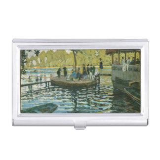 Monet La Grenouillère Fine Art Business Card Case