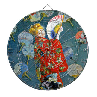Monet - La Japonaise - arte impresionista francés Tablero Dardos