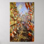 Monet, la ruda Montorgeuil, París, el 30 de junio  Impresiones