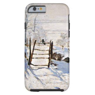Monet: La urraca Funda De iPhone 6 Tough