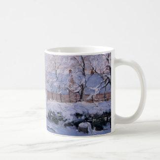 Monet la urraca taza de café