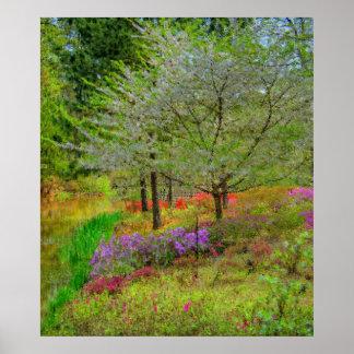 Monet Landscape Poster