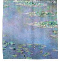 Monet Les Nympheas Water Lilies Fine Art Shower Curtain